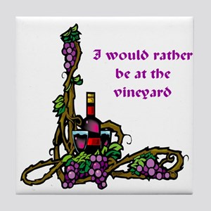 The Vineyard Tile Coaster