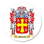 Miskell Round Car Magnet