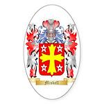 Miskell Sticker (Oval)
