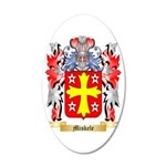 Miskele 35x21 Oval Wall Decal