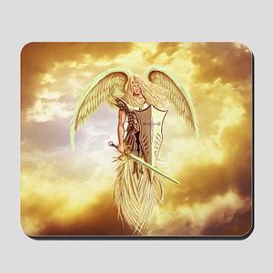 Saint Archangel Michael Mousepad