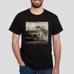 Burnout Pit Truck Dark T-Shirt