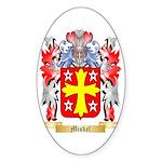 Miskel Sticker (Oval 50 pk)