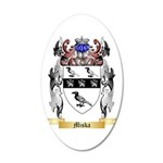 Miska 20x12 Oval Wall Decal