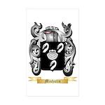 Mishutin Sticker (Rectangle 50 pk)