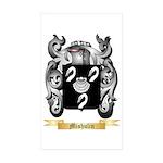 Mishulin Sticker (Rectangle 50 pk)