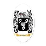 Mishkin Oval Car Magnet
