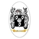 Mishkin Sticker (Oval 50 pk)