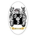 Mishenev Sticker (Oval)