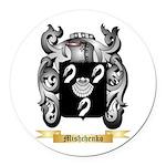 Mishchenko Round Car Magnet