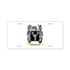 Mishchenko Aluminum License Plate