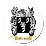 Mischner Round Car Magnet