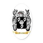 Mischke Oval Car Magnet