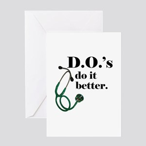 DO shirt Greeting Cards