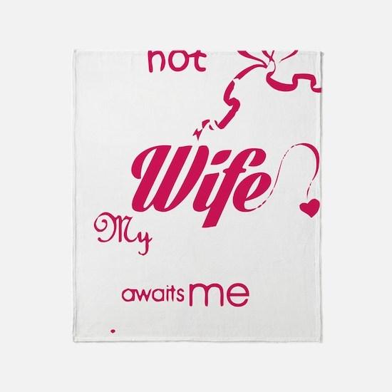 Cute Husband Throw Blanket