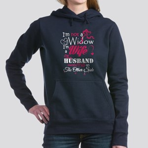 I AM NOT A WIDOW , I AM Women's Hooded Sweatshirt