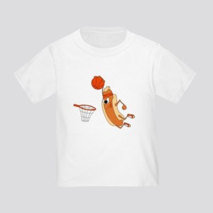 Hotdog Basketball Player T-Shirt