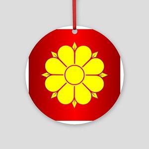 Trondheim Round Ornament