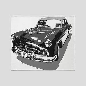 51 Packard Throw Blanket