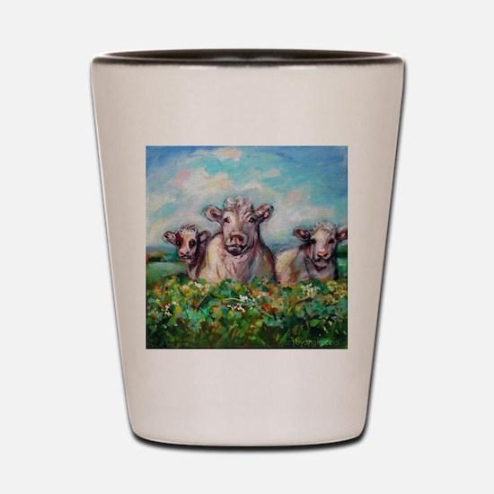 Cute Cow design Shot Glass