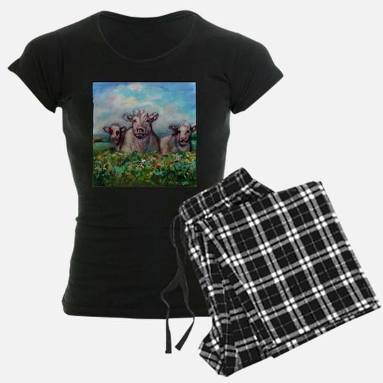 Cute Happy cow Pajamas