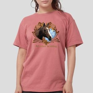 I'd Rather Be Riding Horses T-Shirt