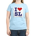 I <3 SL Women's Light T-Shirt