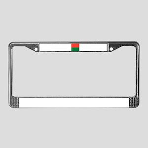 Madagascar Flag License Plate Frame