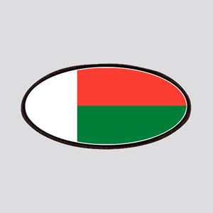 Madagascar Flag Patch
