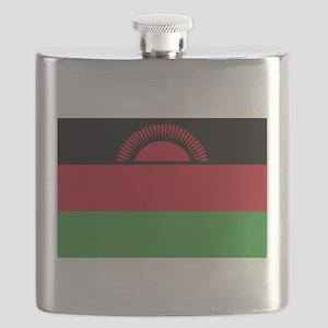Malawi Flag Flask