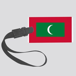 Maldives Flag Luggage Tag