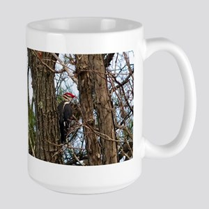 Male Pileated Woodpecker Mugs