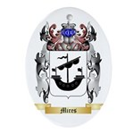 Mires Oval Ornament