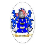 Mirando Sticker (Oval 50 pk)