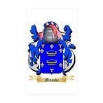 Miranda Sticker (Rectangle 50 pk)