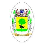 Miramontes Sticker (Oval 50 pk)