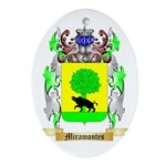 Miramontes Oval Ornament