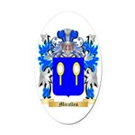 Miralles Oval Car Magnet