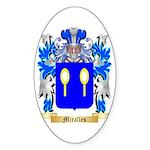Miralles Sticker (Oval 50 pk)