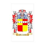 Mirabelli Sticker (Rectangle 50 pk)