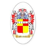 Mirabelli Sticker (Oval 50 pk)