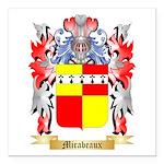 Mirabeaux Square Car Magnet 3