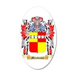 Mirabeaux 35x21 Oval Wall Decal
