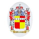 Mirabeau Oval Ornament