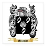 Miquelon Square Car Magnet 3