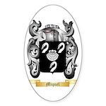 Miquel Sticker (Oval 50 pk)