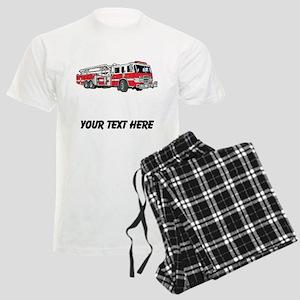 Fire Truck (Custom) Pajamas
