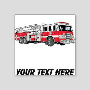 Fire Truck (Custom) Sticker