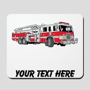 Fire Truck (Custom) Mousepad