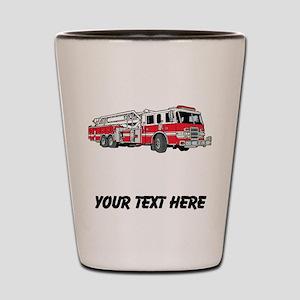 Fire Truck (Custom) Shot Glass